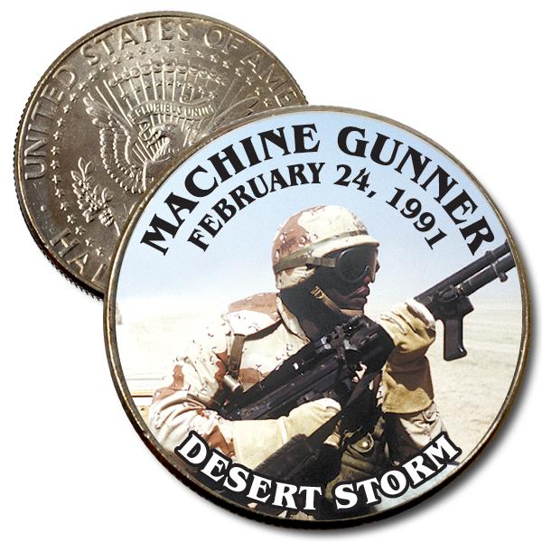 JFK 50c Machine Gunner