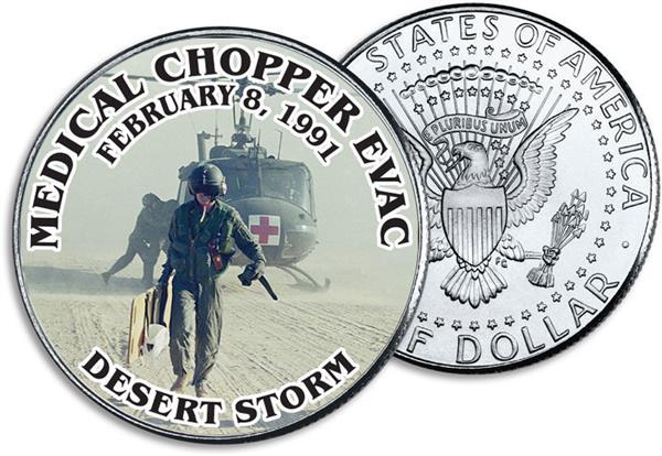 JFK 50c Medical Chopper Evac