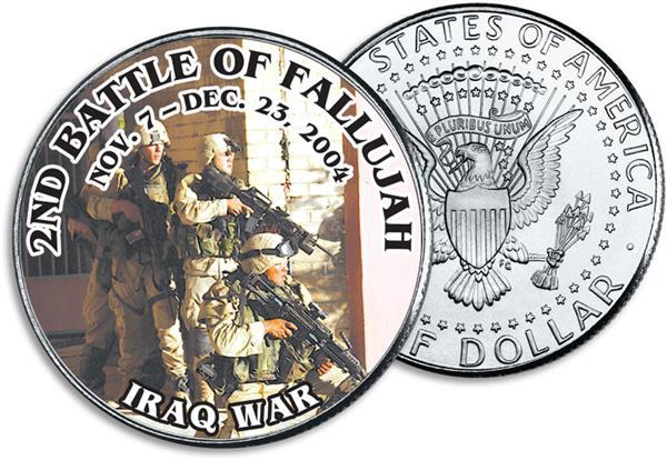 JFK 50c 2nd Battle of Fallujah