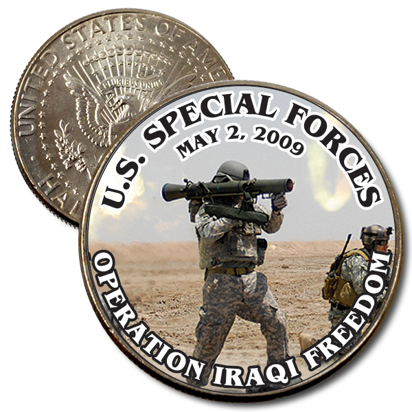 JFK 50c U.S. Special Forces