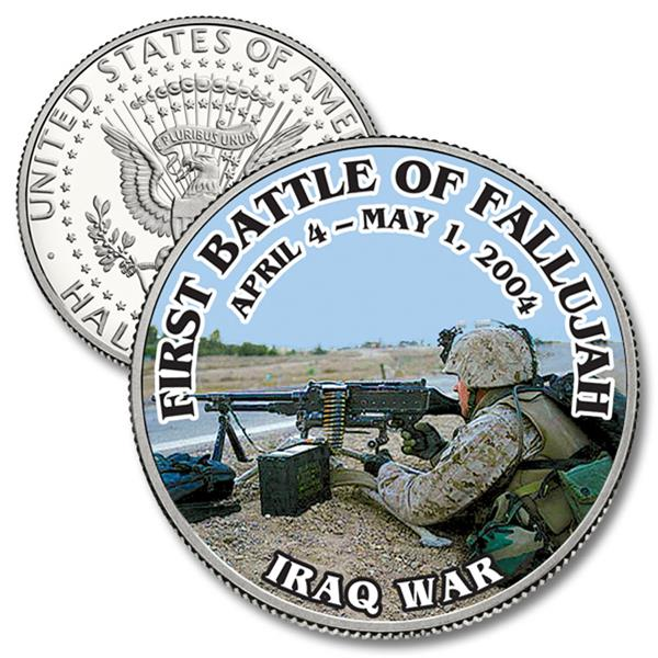 JFK 50c First Battle OF Fallujah