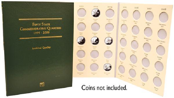 50 States Coin Folder