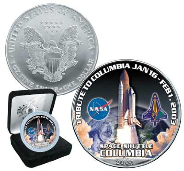 2003 Silver Eagle, Tribute to Space Shuttle Columbia