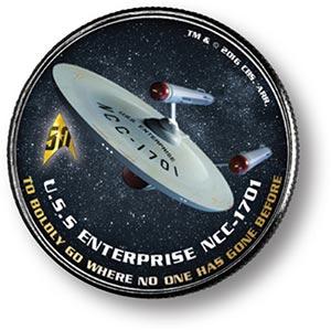 JFK 50c Star Trek-Enterprise