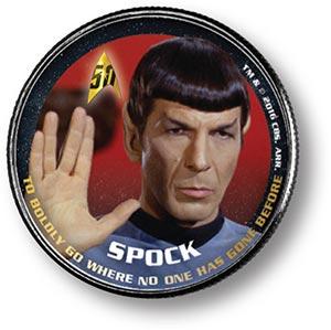 JKF 50c Star Trek-Spock