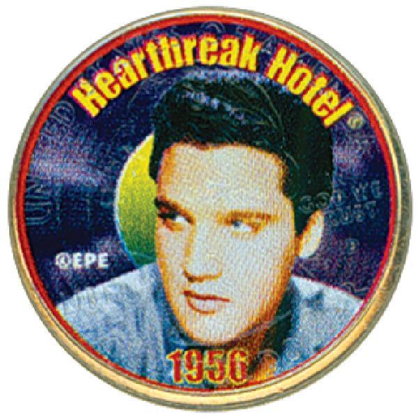 Elvis 'Heart Break Hotel' Color Qtr.