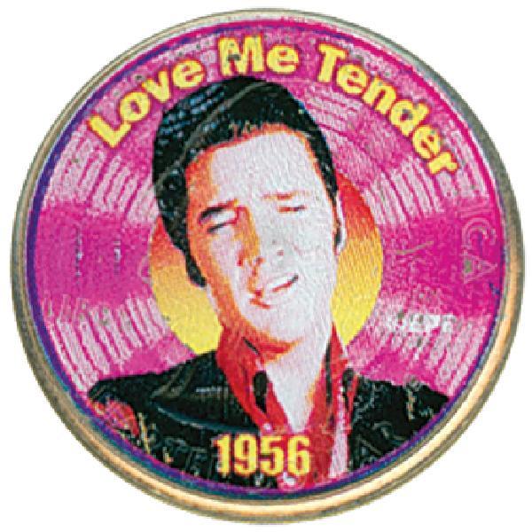 Elvis 'Love Me Tender' Colorized Qtr.