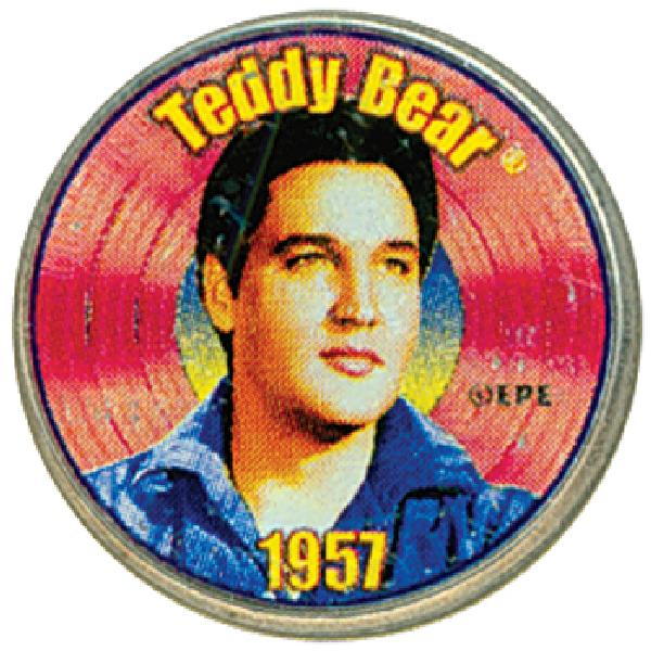 "Elvis ""Teddy Bear"" Colorized Qtr."