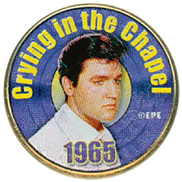Elvis 'Crying in the Chapel' Color Qtr.