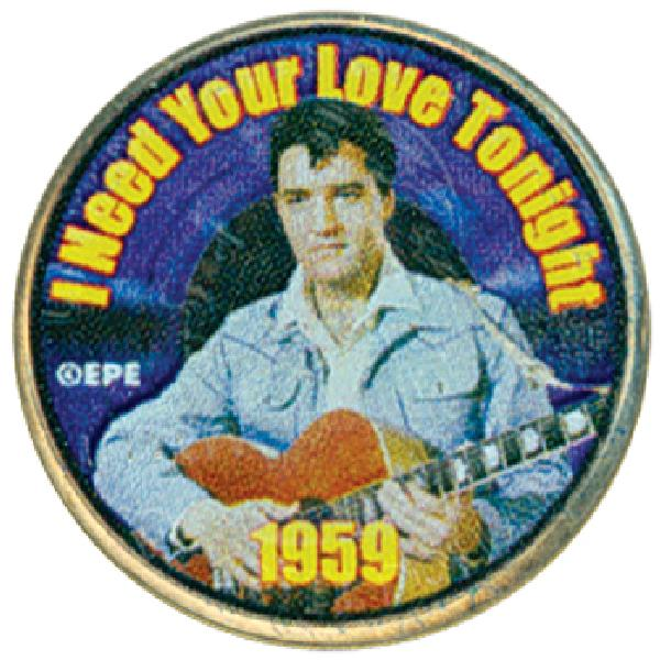 Elvis 'I Need Your Love Tonight'Col Qtr.