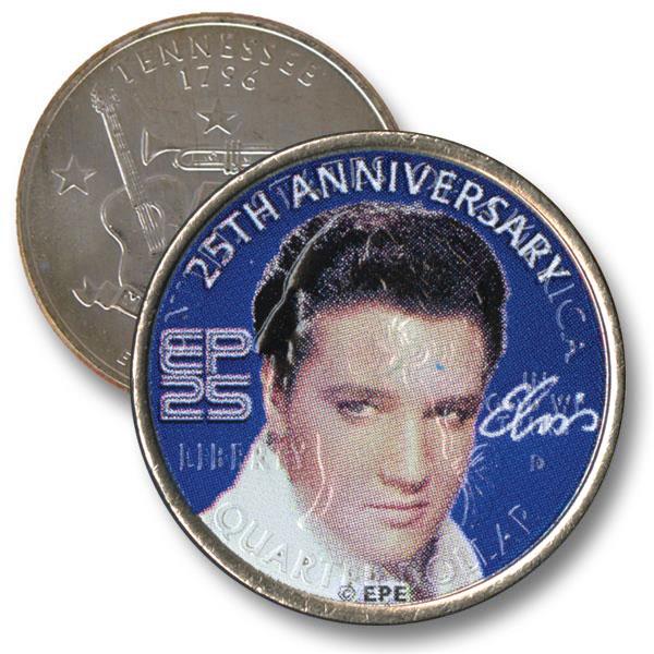 Elvis Presley 25th Anniversary Coin