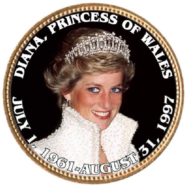 """Princess Diana """"Princess of Wales"""""""