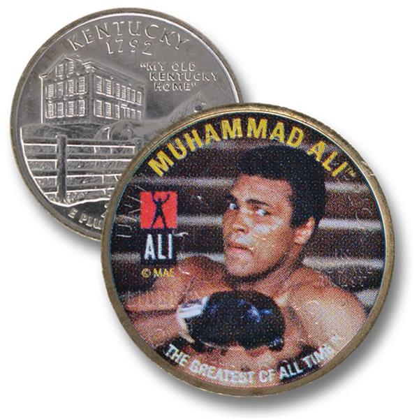 Muhammad Ali Kt Qtr Looking Left, Right