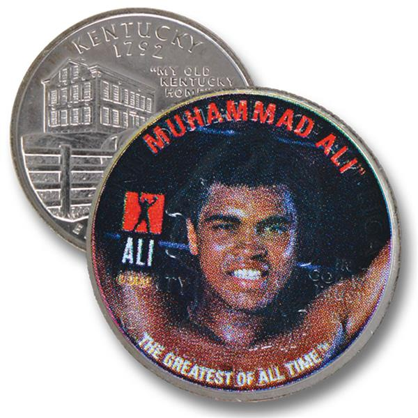 Muhammad Ali Kt Qtr Arms Raised and