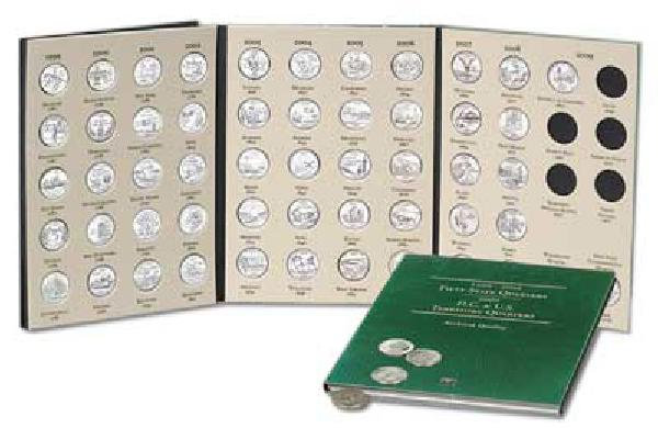56 US Quarter Coin Folder