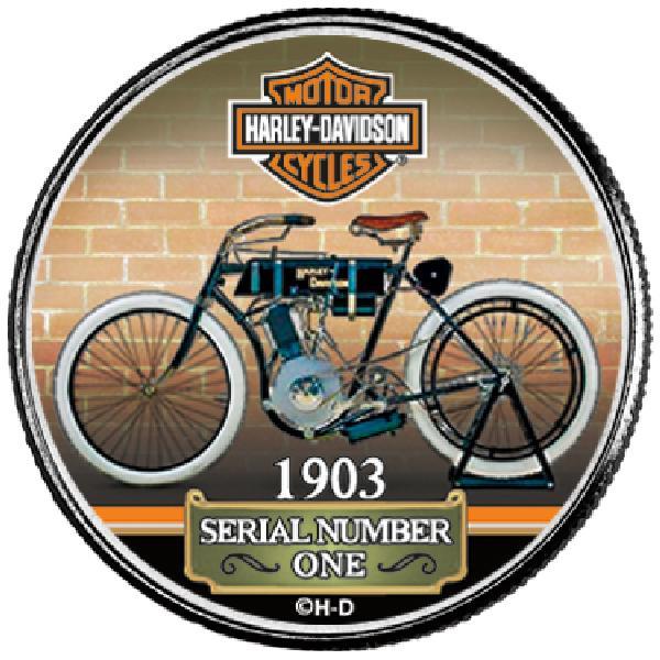 "Harley Davidson 50c ""1903 Serial Number"