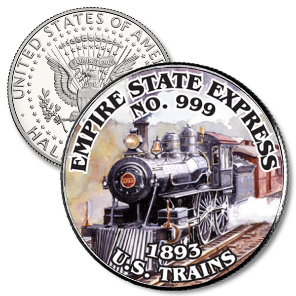 JFK 50c Empire Express No. 999