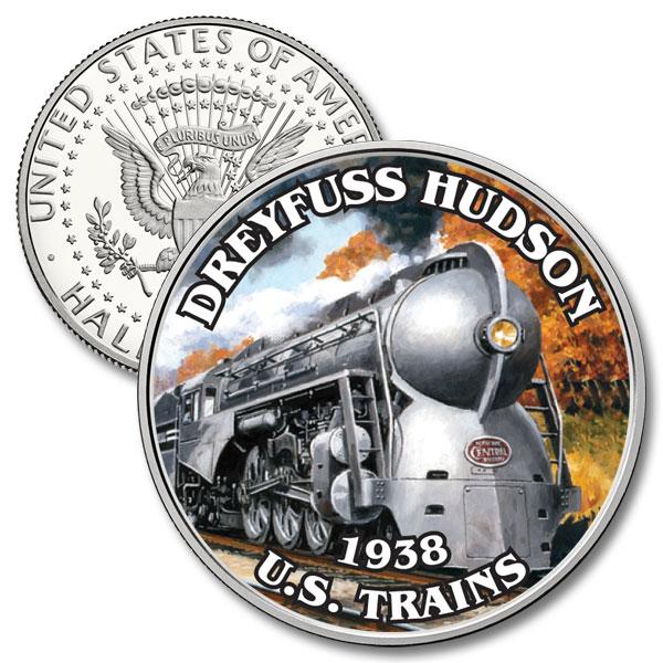 JFK 50c Dreyfuss Hudson