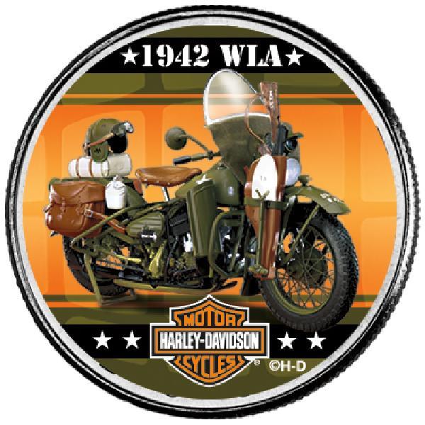 """Harley Davidson 50c """"1942 WLA"""""""