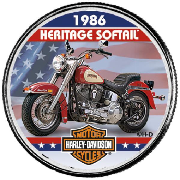 "Harley Davidson 50c ""1986 Heritage Soft-"