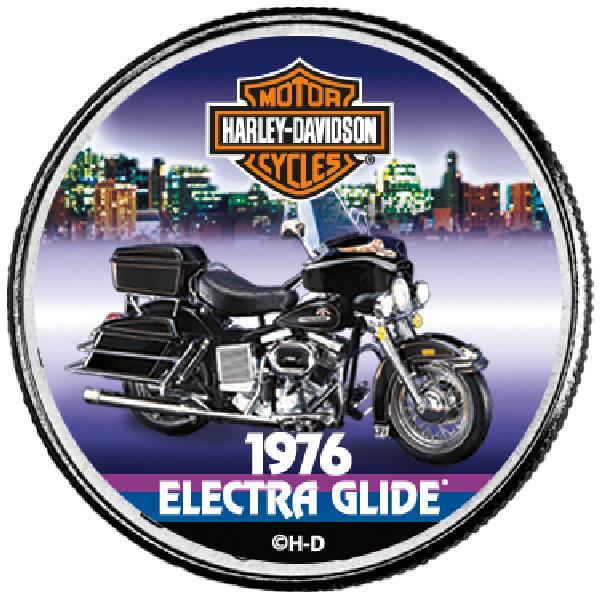 "Harley Davidson 50c ""1976 Electra Glide"""