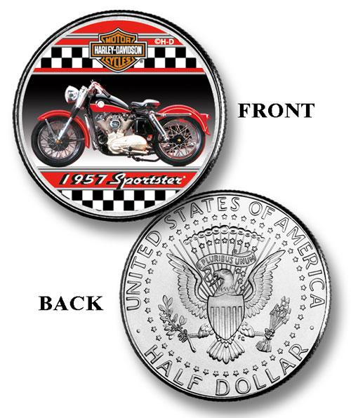 "Harley Davidson 50c ""1957 Sportster"""