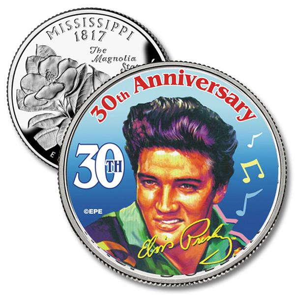 Elvis 30th Anniversary Tribute on Mississippi Quarter
