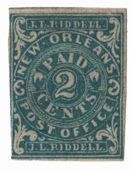 1861 2c blue