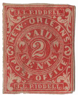 1862 2c red