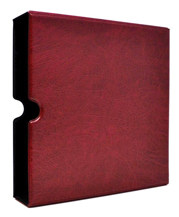 Album Slipcase, Fits Mystic's Heritage Collection and Soviet Union Collection Albums, Burgundy