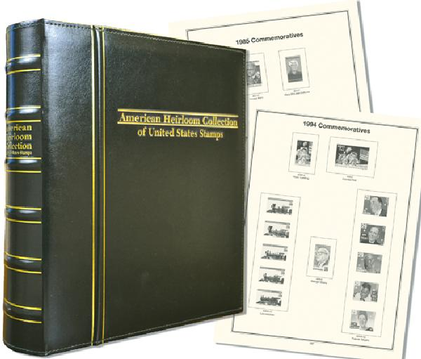 1985-94 Volume IV, Mystics Hingeless American Heirloom Album (includes premium binder without slipcase)