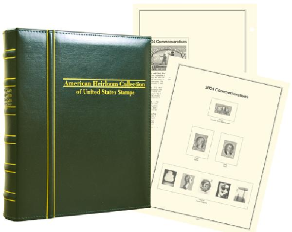 2000-04 Volume VI, Mystics Hingeless American Heirloom Album (includes premium binder without slipcase)