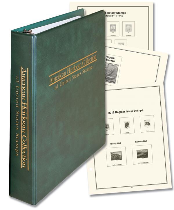 1847-Present, Mystic's US Definitive Stamp Collection Album