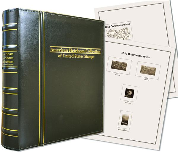 2011-14 Volume VIII, Mystics Hingeless American Heirloom Album (includes premium binder without slipcase)