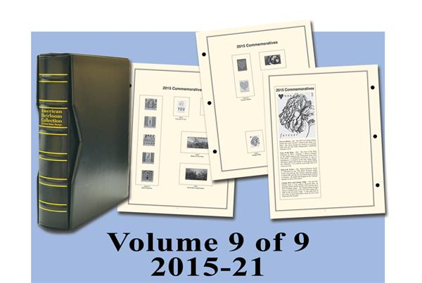 2015-20 Volume IX, Mystic's Hingeless American Heirloom Album with Slipcase
