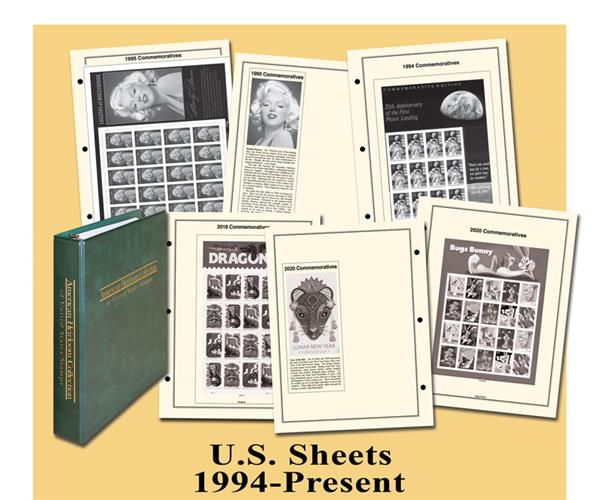 Mystic 1994-2020 American Heirloom Collection of US Sheets Album