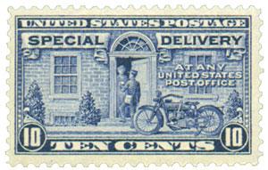 1922 Flat Plate Perf 11 10c