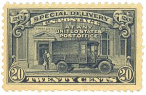 1925 Flat Plate Perf 11 20c
