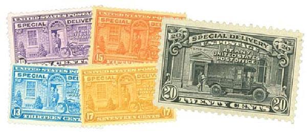 1927-51 Rotary Press 10c-20c