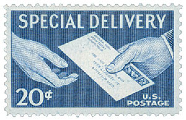 1954 Special Delivery 20c