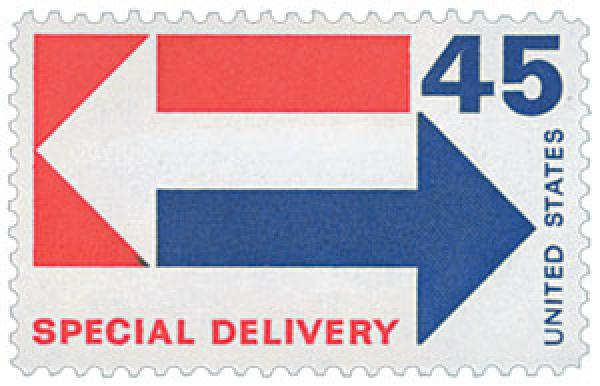 1969 Special Delivery 45c