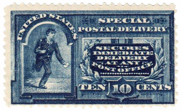1895 10c Messenger Running