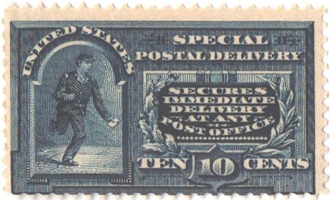 1895 10c blue