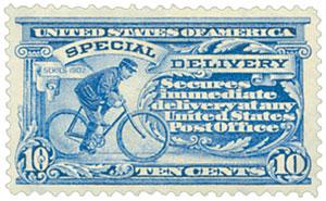 1902 DL Wmrk 10c ultramarine