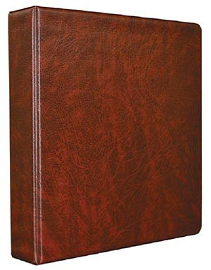 Mystics All Purpose Binder, 3-Ring, Burgundy, 11 x 11 1/2