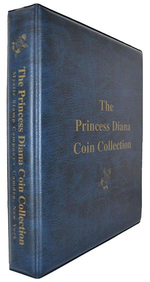 Mystics Princess Diana Coin Collection Binder