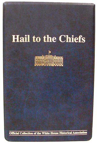 Fleetwood Hail to the Chiefs Coin Collection Binder