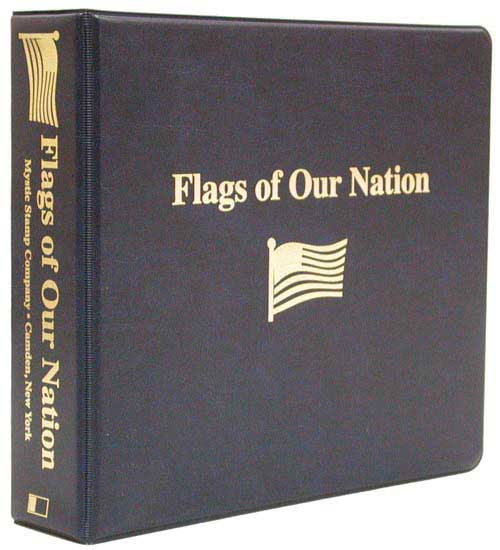 Fleetwood Flags of Our Nation Coin First Day Cover Collection Binder