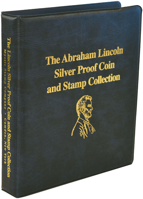 Mystic's Lincoln Stamp and Coin Collection Binder