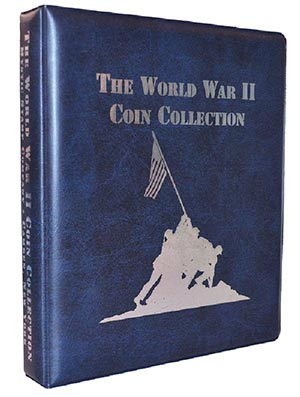 Mystic's WW II Coin Collection Binder